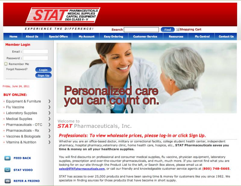 STAT Home Page