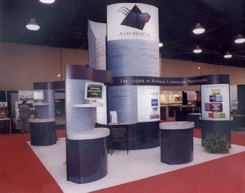 A-Life Tradeshow Booth